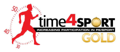 Time 4 Sport Gold Logo